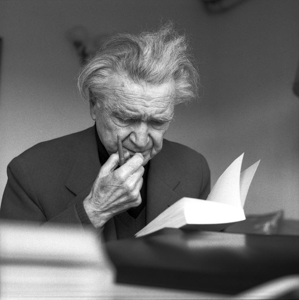 Emil Cioran fotografiat de Rogelio Cuellar