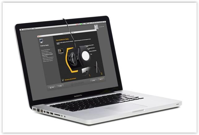 x-rite colorimetru calibrare laptop