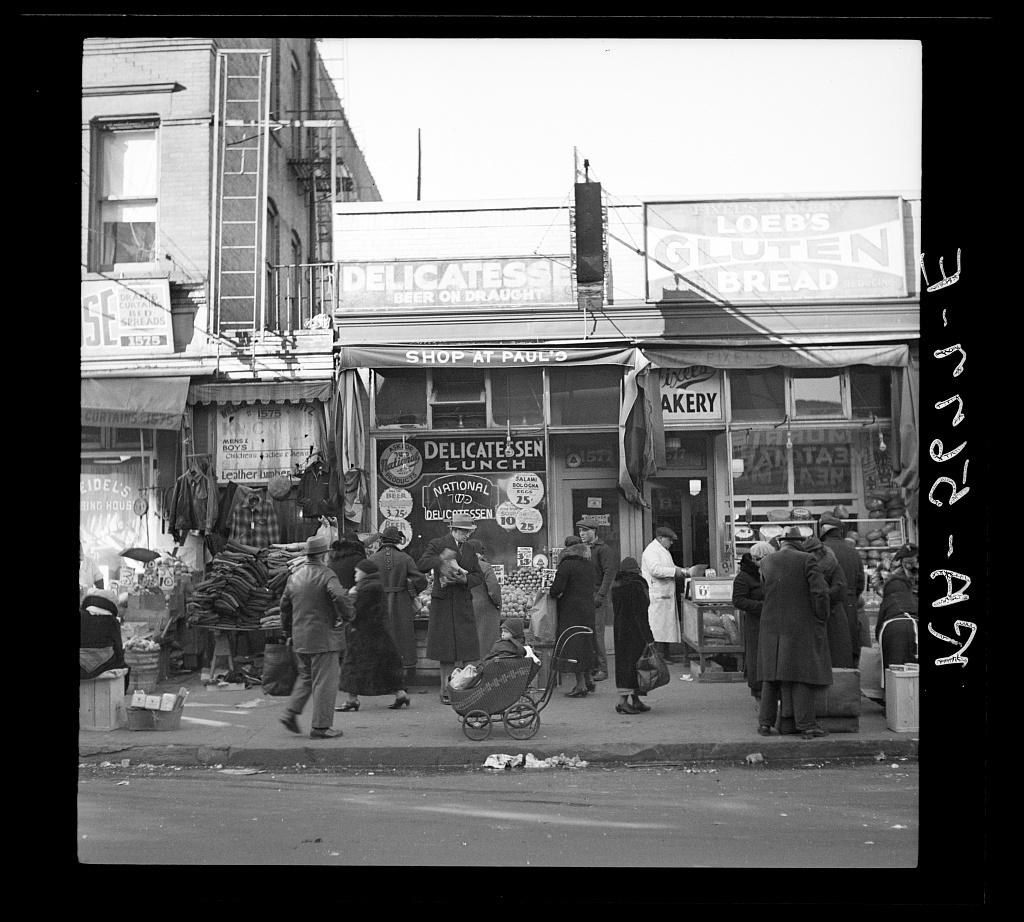 Arthur Rothstein poze alb-negru america newy york