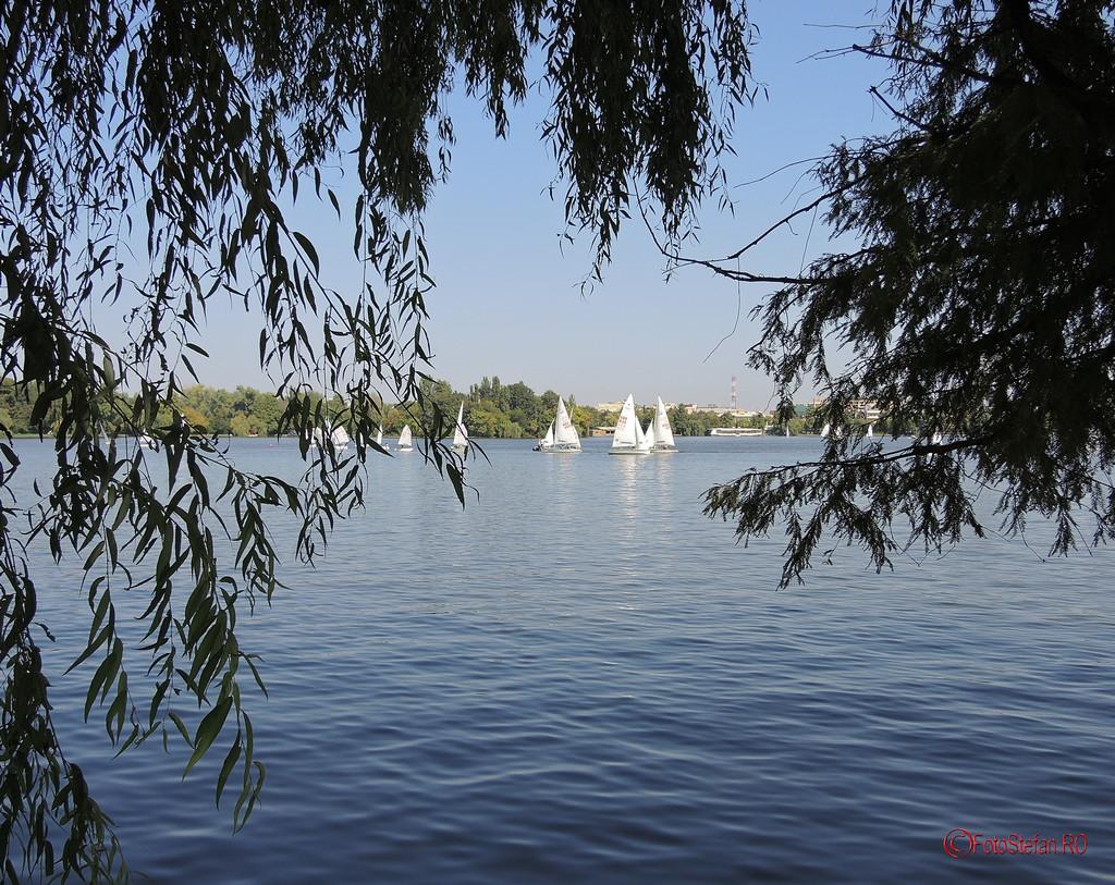 parcul herastrau lac yachting