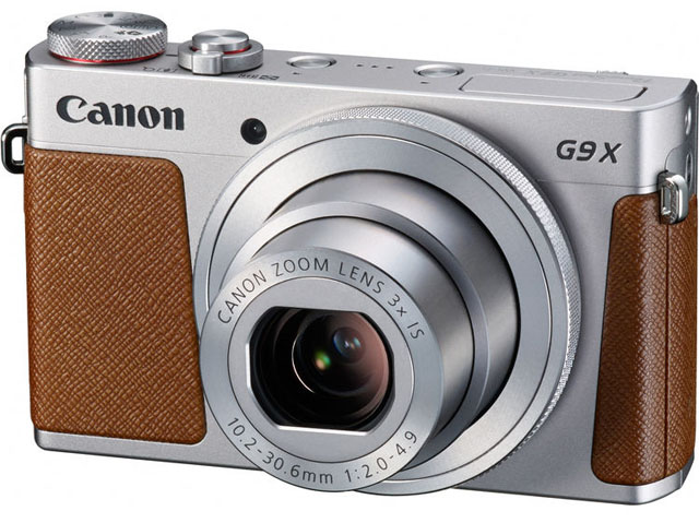 aparat foto compact Canon PowerShot G9 X argintiu