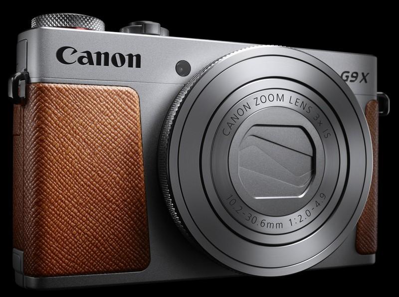 Canon PowerShot G9 X argintiu