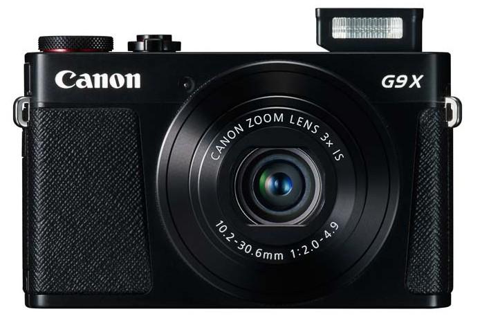 Canon PowerShot G9 X negru