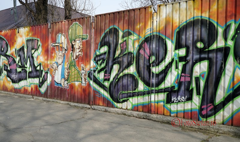 graffiti scoala bucuresti