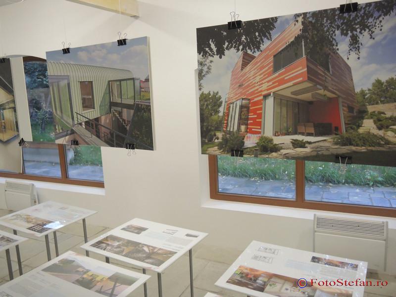 "arhitectura Expozitia ""Bucuresti: Capitala liniilor de fuga"""