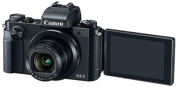 canon PowerShot G5 X lcd rabatabil
