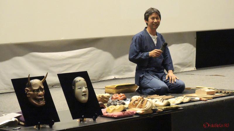 Hideta Kitazawa sculptor japonez bucuresti MTR foto