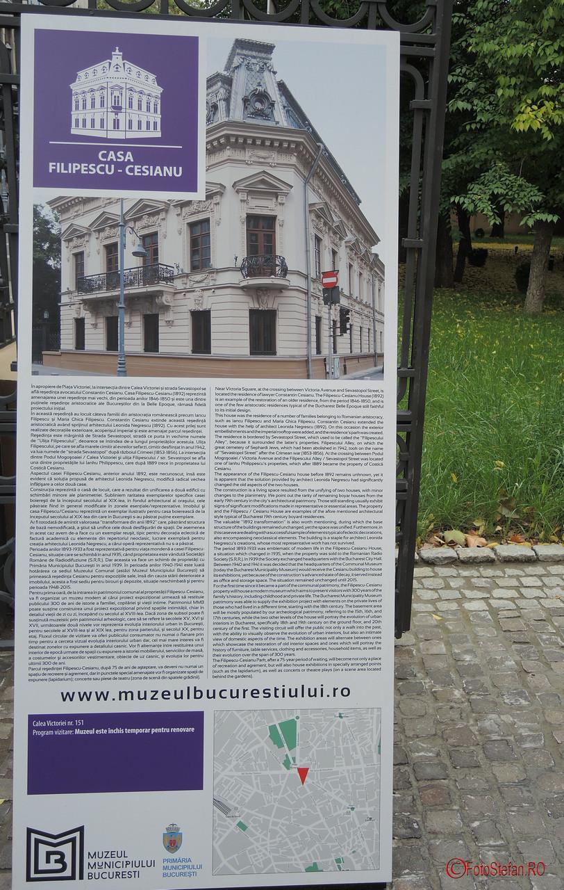 despre muzeul casa cesianu bucuresti