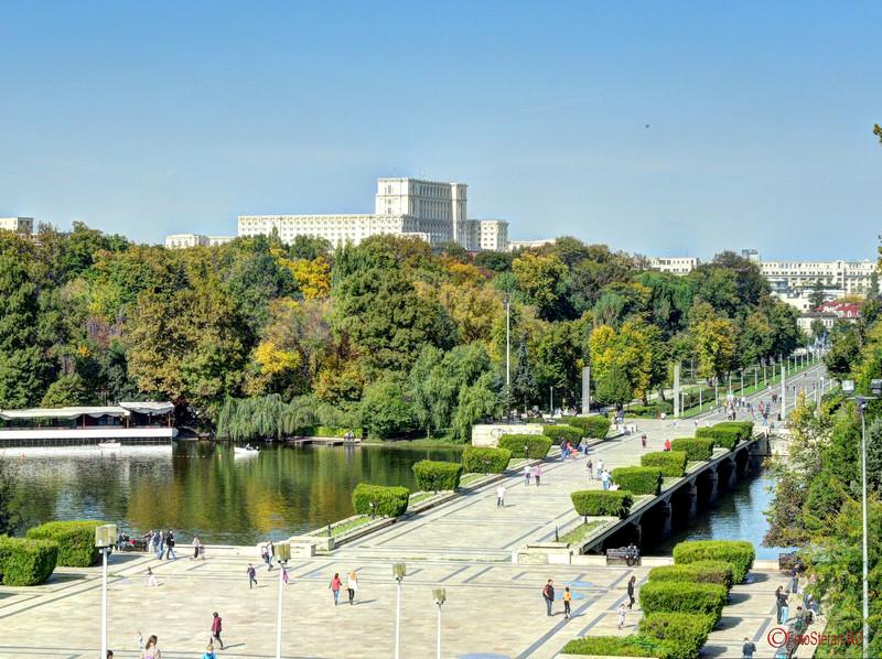 casa poporului palatul parlamentului vedere parcul carol