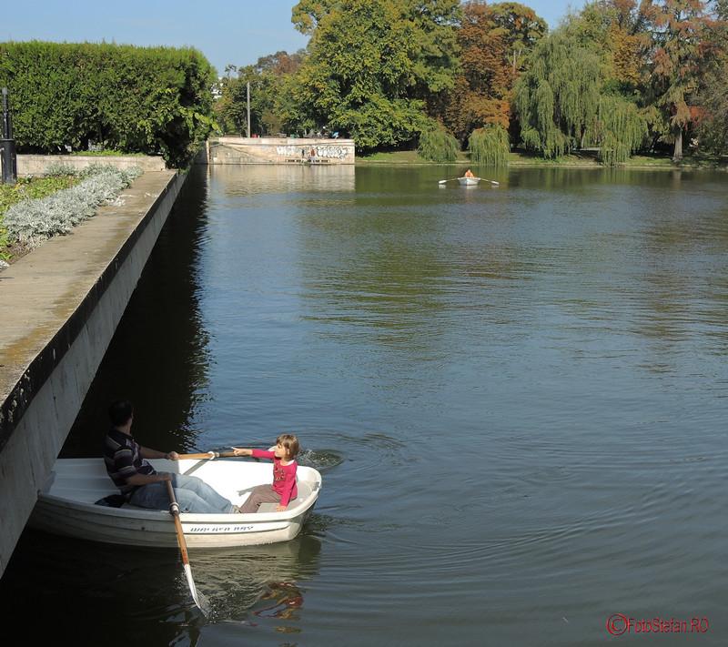 foto barca lac parcul carol bucuresti