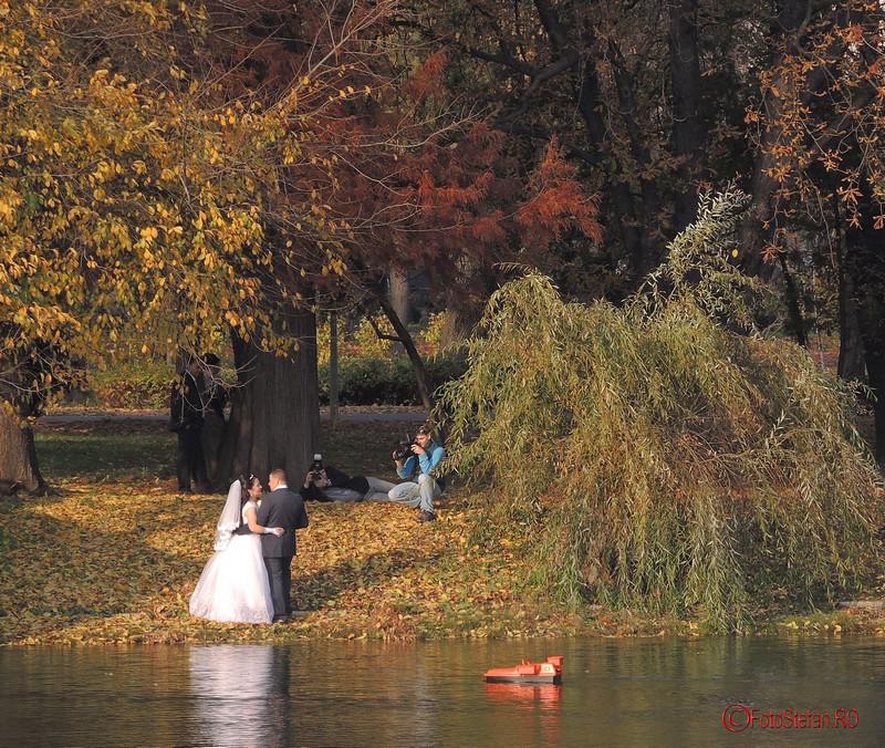 poze de nunta parcul carol toamna bucuresti