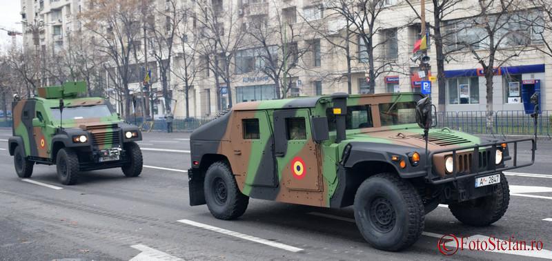 poze Humvee şi Panhard armata romana