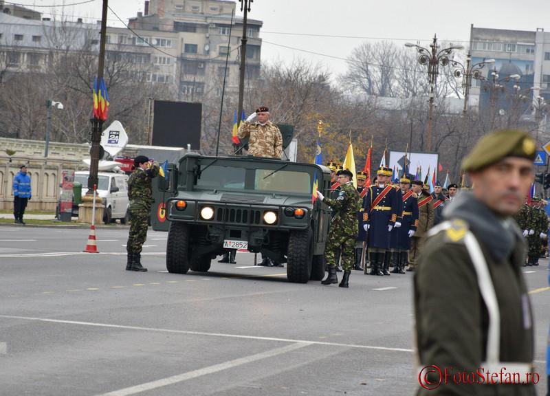 poze video repetitie generala in piata Constitutie pentru parada militara de Ziua Nationala a Romaniei
