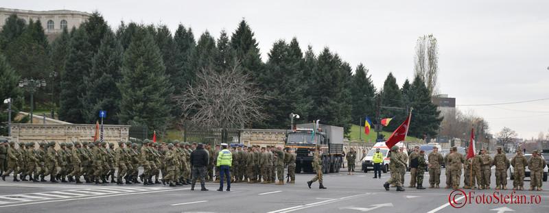 foto Repetitii pentru parada militara de 1 Decembrie - Ziua Nationala a Romaniei