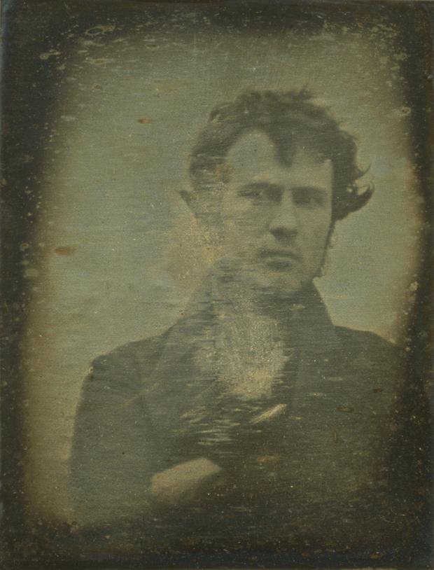 selfie fotograf american Robert Cornelius