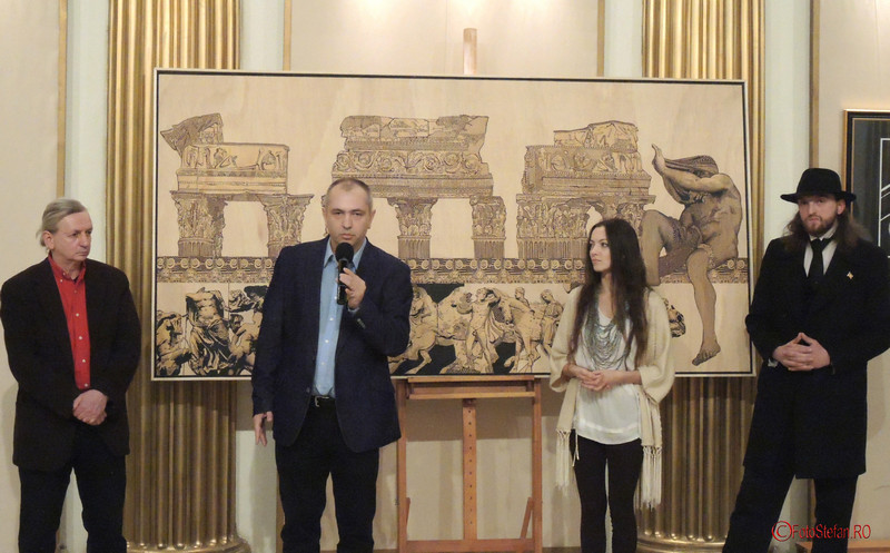 poza Mircea Roman, Mihai Plamadeala, Eva Radu, ZuZu Caratanase