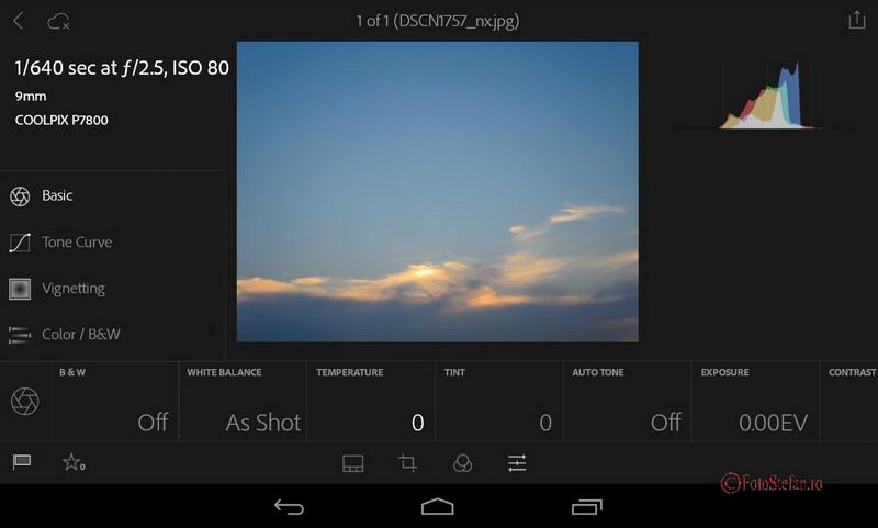 Lightroom Mobile gratuit android