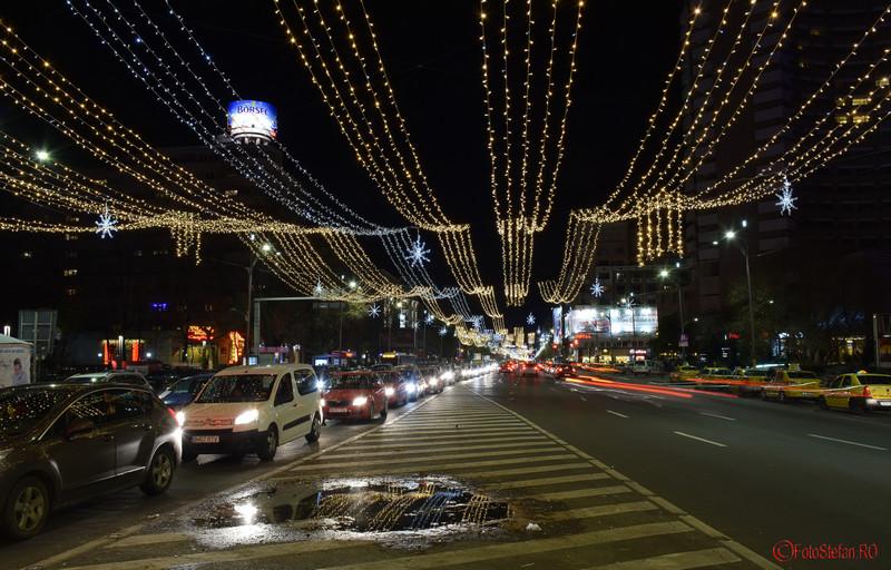poze luminite craciun 2015 bucuresti magheru