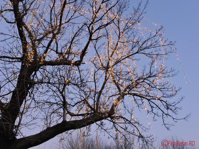 Fotografii cu luminitele de Craciun 2015 din Bucuresti