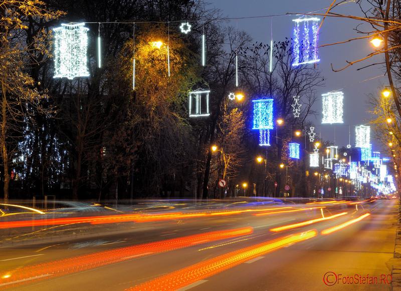 Fotografii cu luminitele de Craciun 2015 din Bucuresti Kiseleff