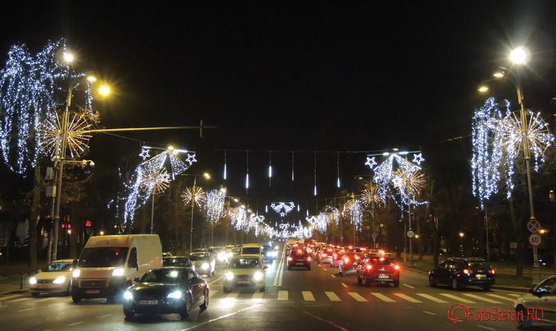 Fotografii cu luminitele de Craciun 2015 din Bucuresti aviatorilor