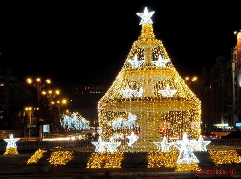Foto: Luminile de sarbatori 2015 din Bucuresti