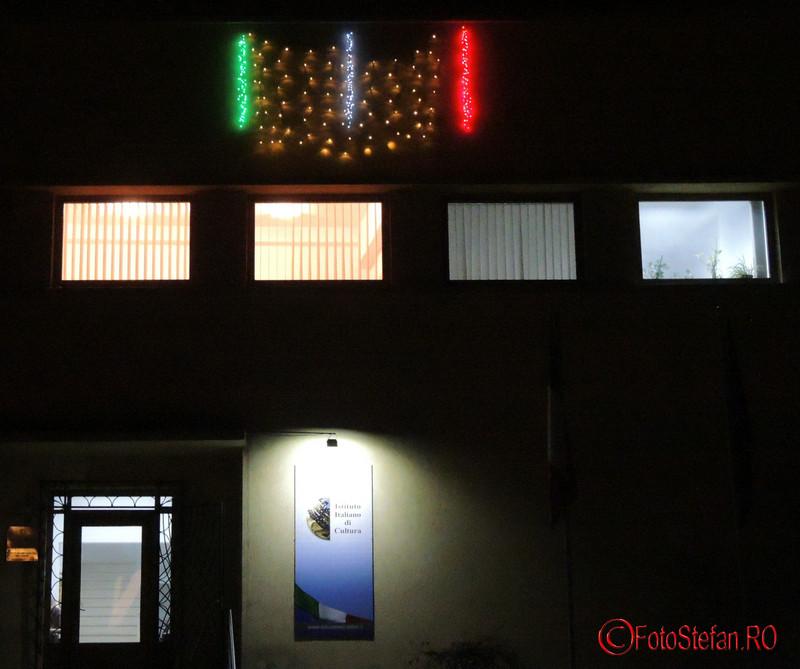 poze luminite craciun institutul cultural italian bucuresti