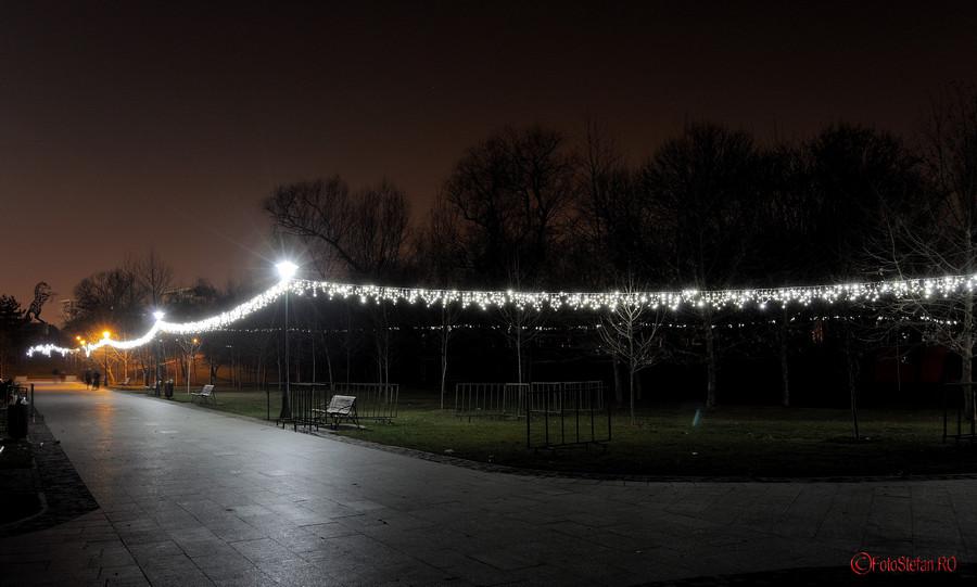 poze luminite craciun parc alexandru ioan cuza cartier titan bucuresti