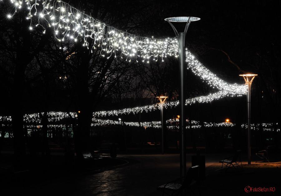 poze foto luminite craciun parc alexandru ioan cuza cartier titan bucuresti
