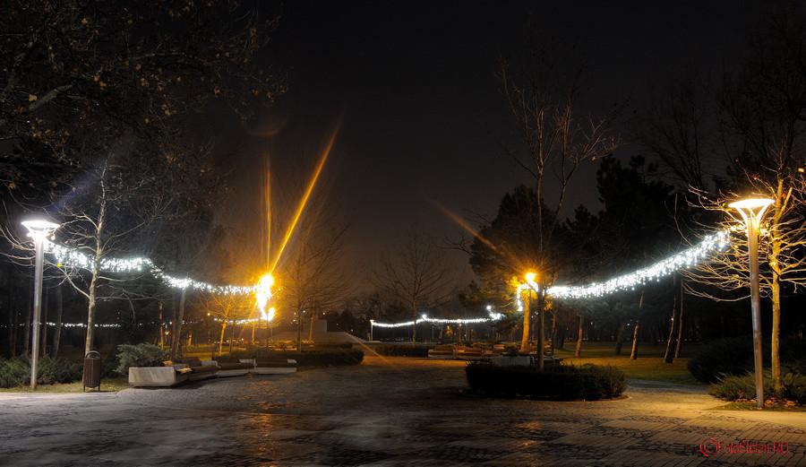 poze luminite craciun 2015 bucuresti parc titan
