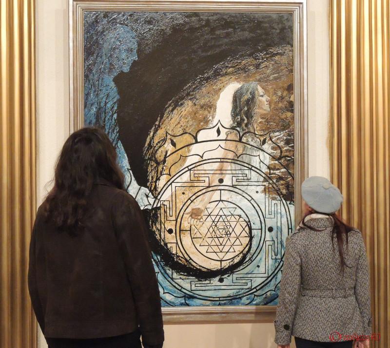 "Expozitia de pictura, gravura si sculptura ""Dual & Duel"" a artistilor Eva Radu si ZuZu Caratanase"