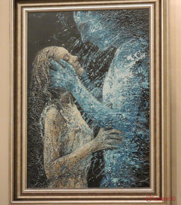 """poze Expozitia de pictura, gravura si sculptura """"Dual & Duel"""" a artistilor Eva Radu si ZuZu Caratanase"""
