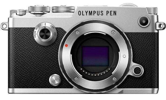 senzor mirrorless olympus pen-f