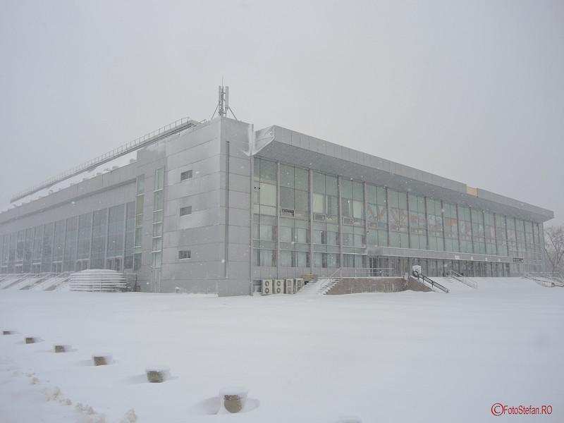 foto sala polivalenta bucuresti iarna