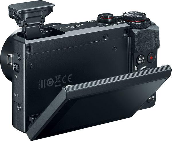 lcd rabatabil Canon G7x Mark II