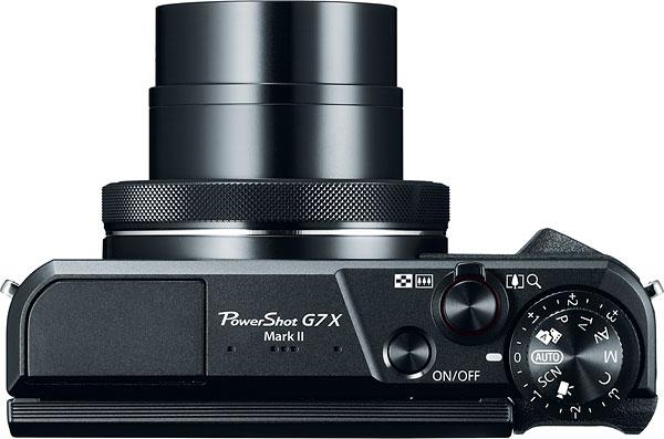 obiectiv zoom Canon PowerShot G7 X Mark II