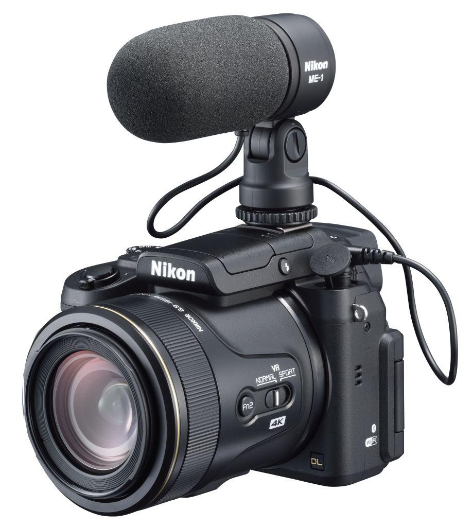 Nikon DL24-500 f/2.8-5.6 si microfon ME-1