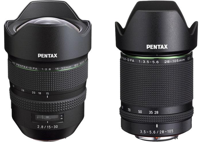 obiective pentax k-1 dslr full frame