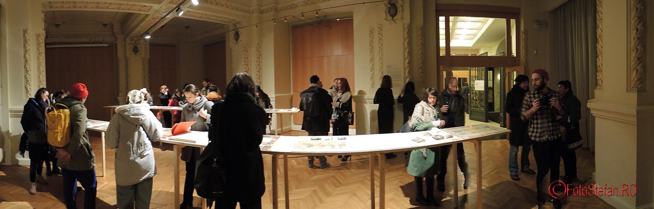 """Future Museum """"Când o carte devine un mesaj"""" poze panoramice"""