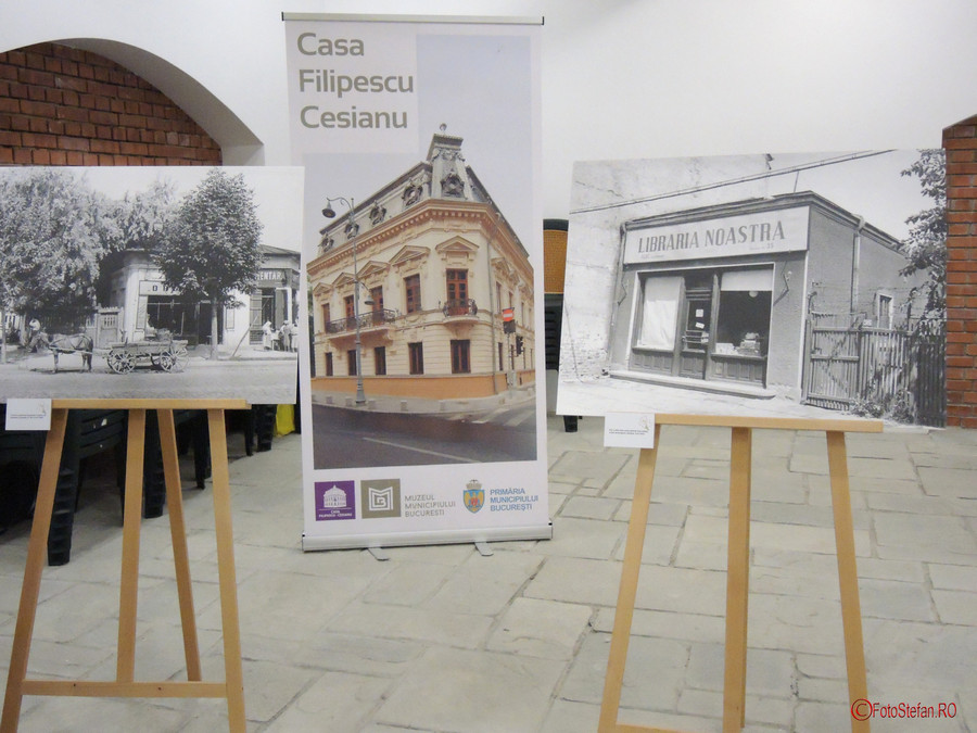 """poye  """"O incursiune în istoriile cartierului Berceni"""" în sala Lapidarium a Casei Filipescu-Cesianu"""