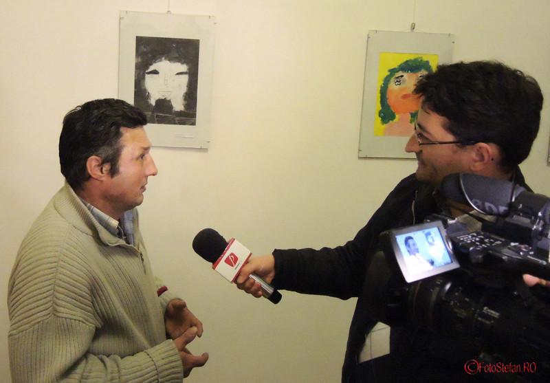interviu artist persoana fara adapost