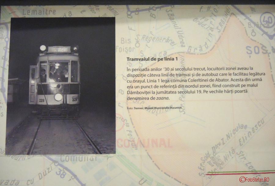 tramvaiul de pe linia 1 berceni