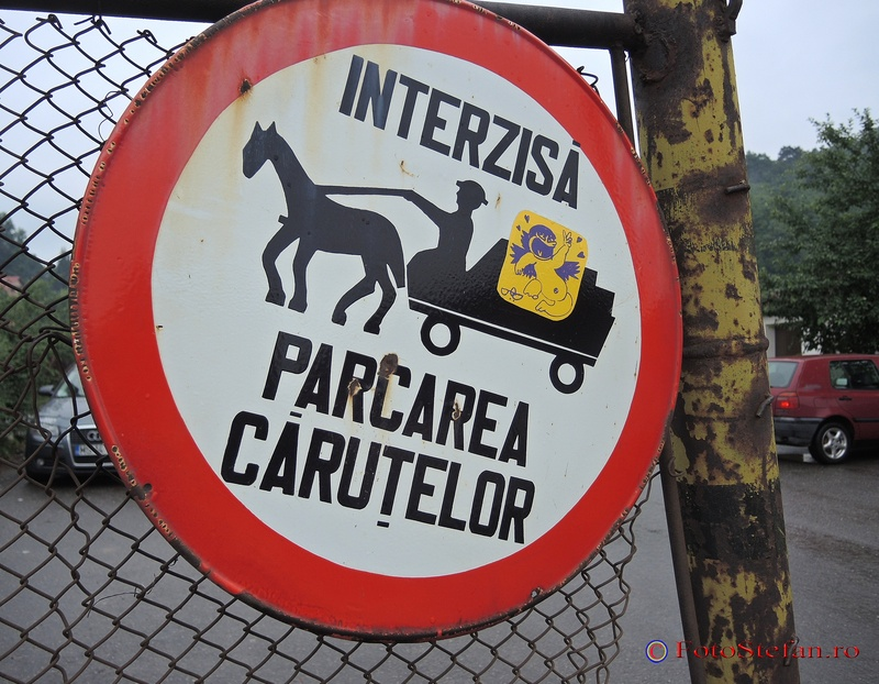 sighisoara semn ciculatie interzisa parcarea carutelor