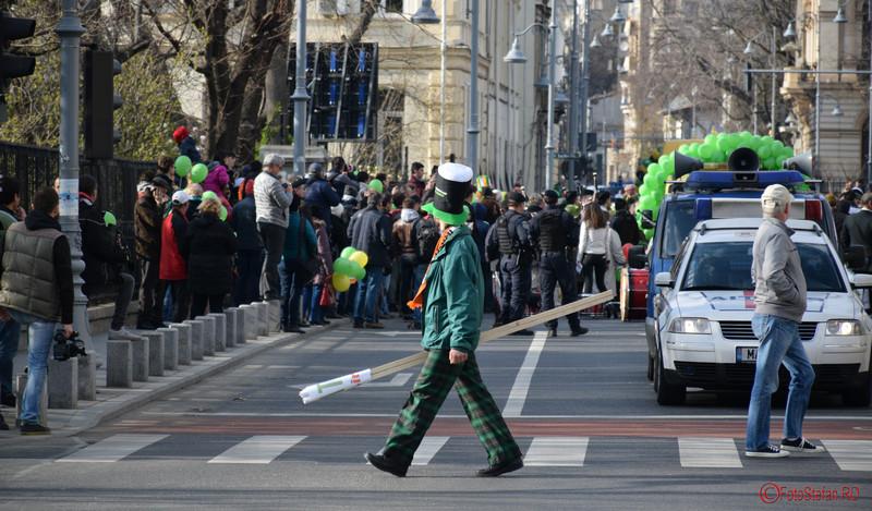 fotografii parada sfantul Patrick Bucuresti martie 2016