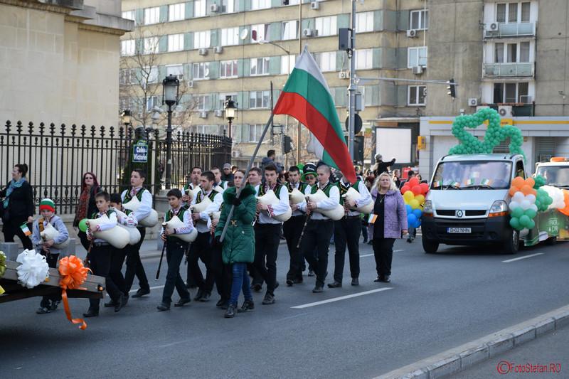 varna parada sfantul Patrick Bucuresti martie 2016