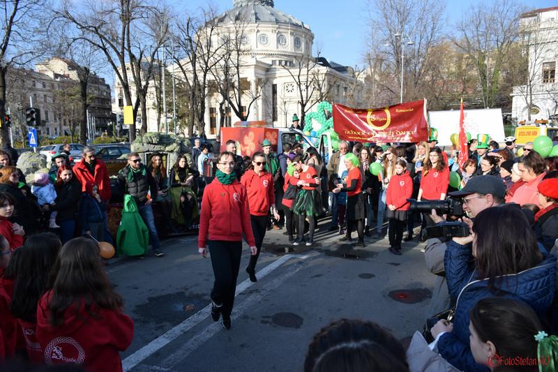 poza staysha parada sfantul Patrick Bucuresti martie 2016