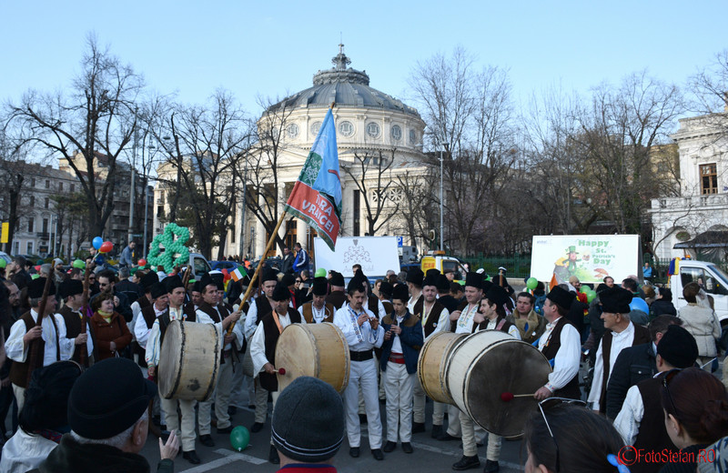 poza foto parada sfantul Patrick Bucuresti martie 2016