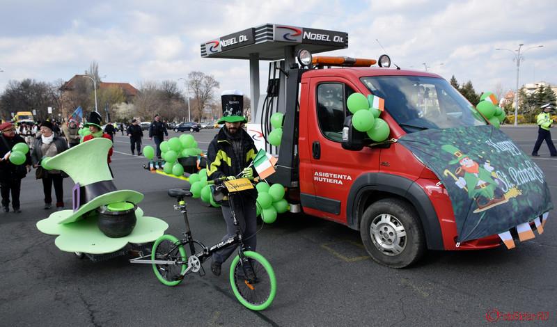 poza bicicleta parada sfantul Patrick Bucuresti martie 2016