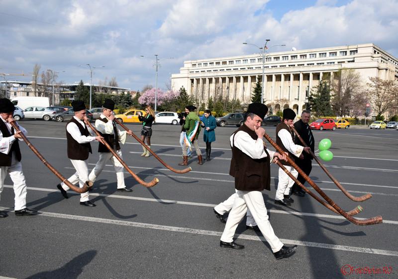 poza bucium parada sfantul Patrick Bucuresti martie 2016