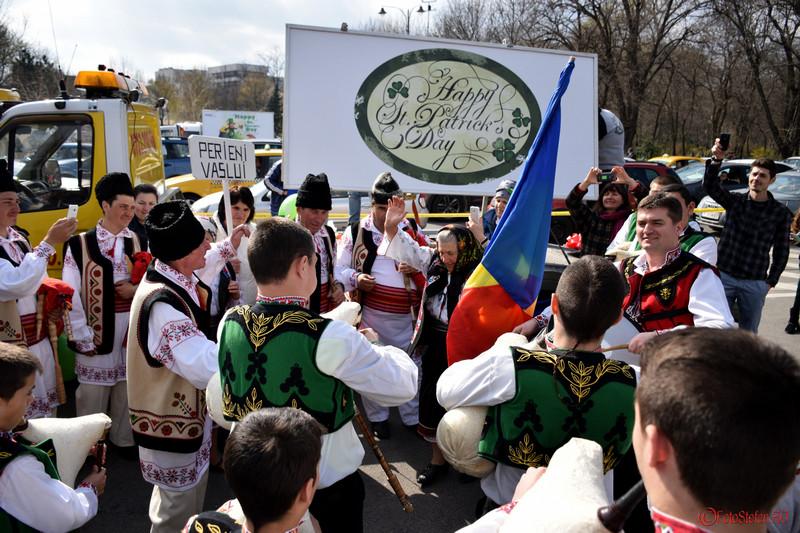 poza dans parada sfantul patrick bucuresti martie 2016